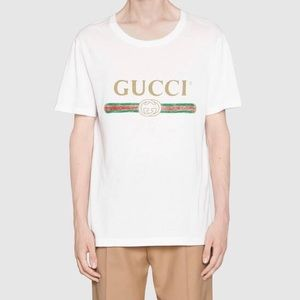 Gucci Authentic Logo Tee